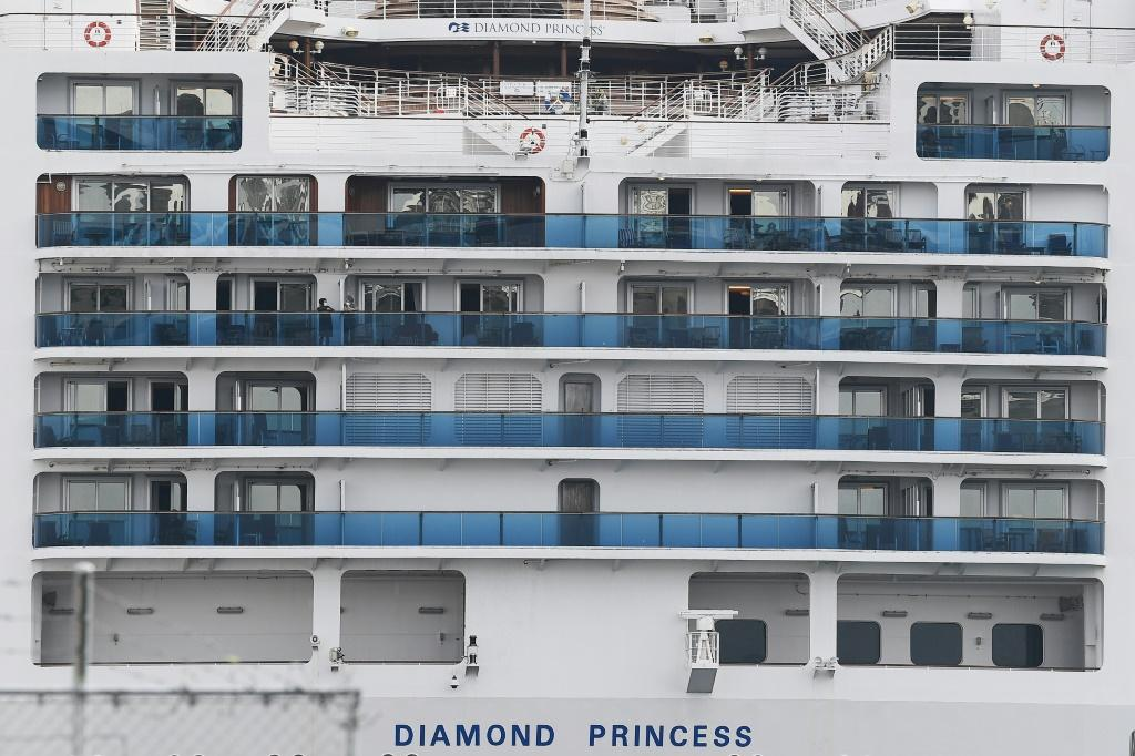 A US plane will carry Americans from the Diamond Princess cruise ship off Japan to Travis Air Force Base in California