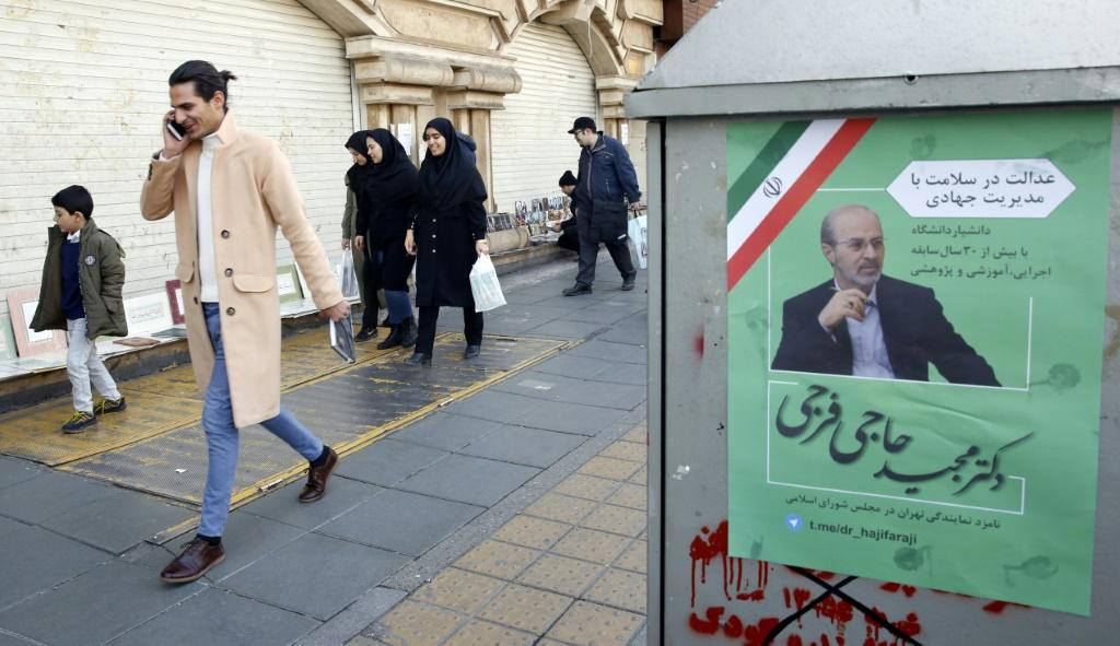 Elections in Iran next week are likely to pose a serious challenge to moderate President Hassan Rouhani