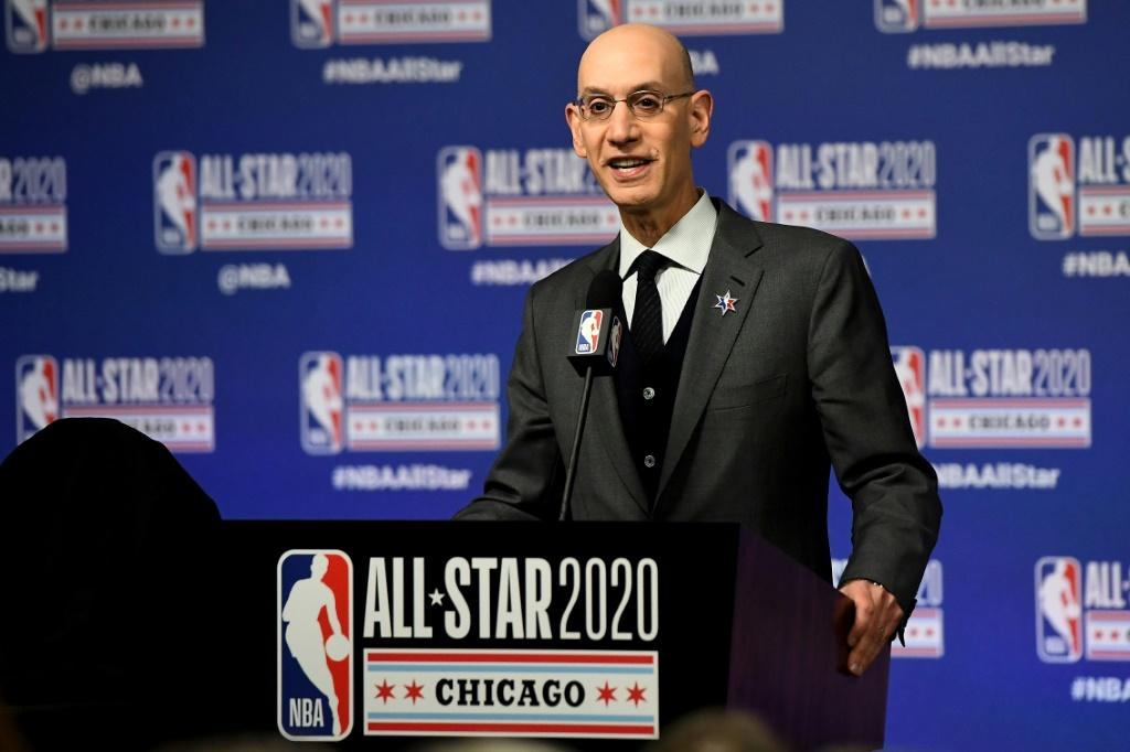 NBA commissioner Adam Silver says he expects Chinese television to resume showing NBA games