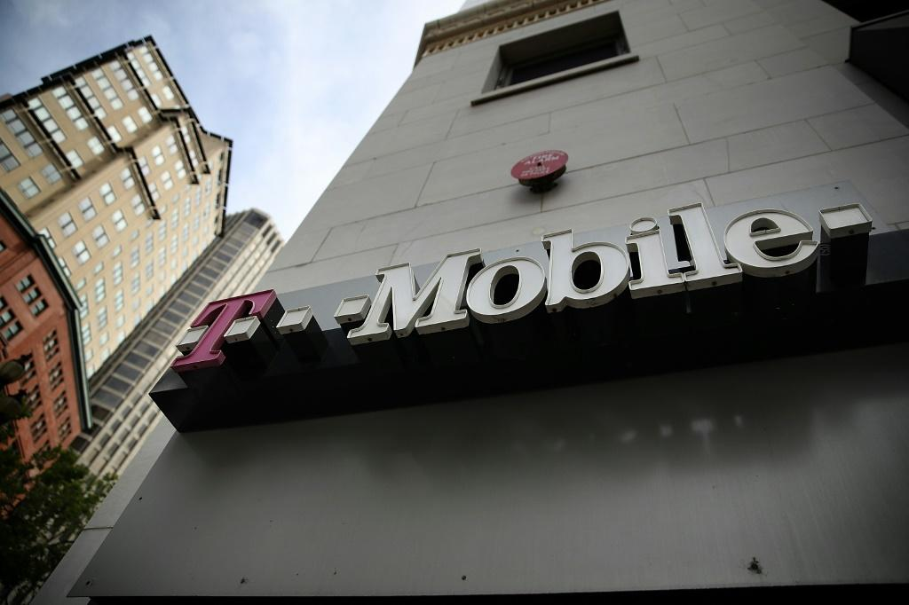 Piling 'em high: Client numbers at T-Mobile were up by 6.4 million