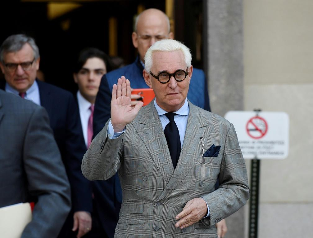 Roger Stone, pictured March 2019, appealed to overturn his conviction and accused jury members of being biased against him
