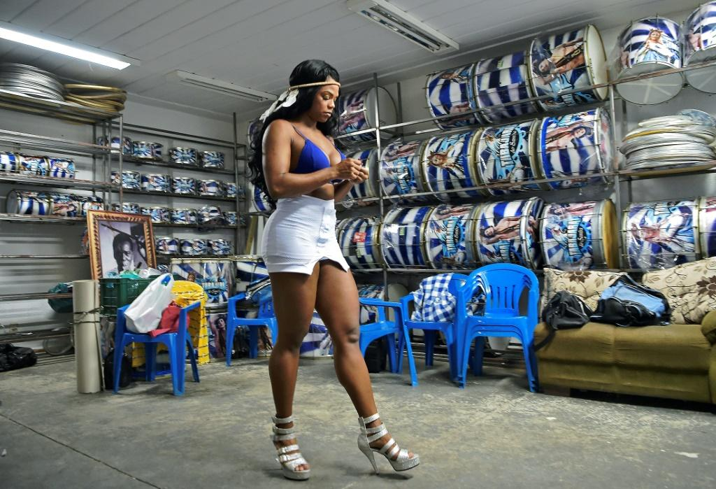 """Bianca Monteiro has grown up around Rio's festive carnival since she was a baby; now she is one of its """"queens"""
