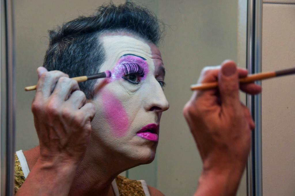 Fernando Magrin, an American Airlines executive in Sao Paulo, created the drag-queen character of Mama for the city's big annual street party and is now celebrated in Brazil as an LGBTQ+ icon