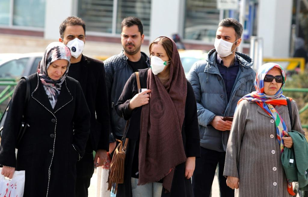 Demand for surgical face masks has surged as news of the Iranian outbreak spread