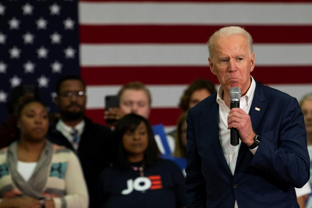 Former vice president Joe Biden will be hoping to bounce back from his dismal performance in Iowa and New Hampshire, where he finished fourth and fifth respectively