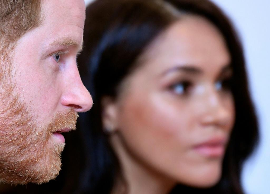 Britain's Prince Harry meghan markle