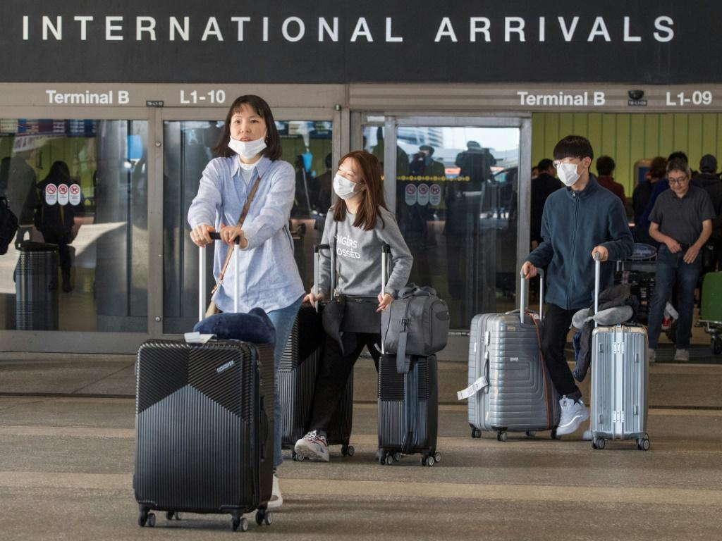 Foreign nationals traveling from China are currently banned from entering the US and more countries, including South Korea and Italy could also be added to the list