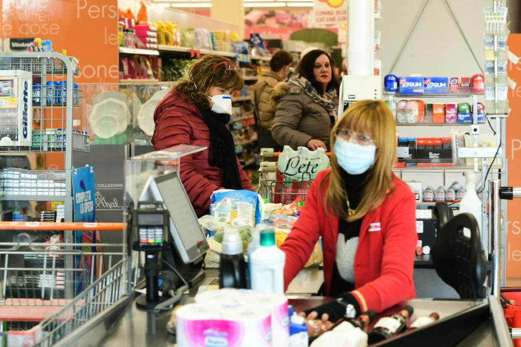 Panic and anxiety are rising with the number of coronavirus cases in Italy, which is suffering through Europe's worst outbreak