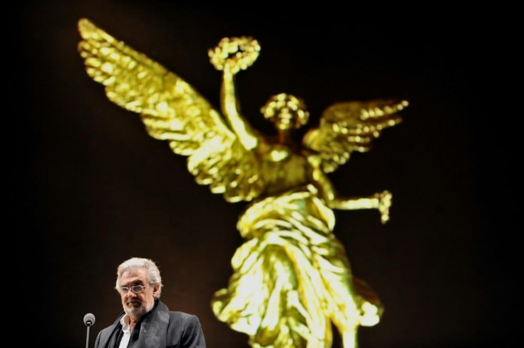 "Placido Domingo said that during his five decades in the opera world he had ""promoting the career of a myriad of singers"