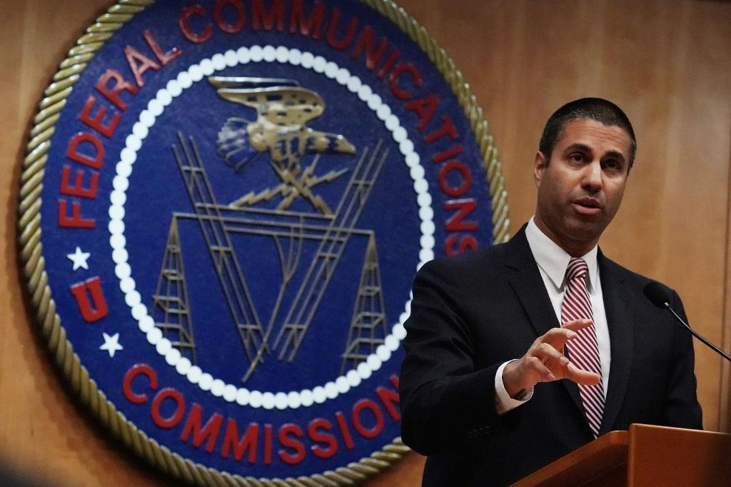 Federal Communications Commission chairman Ajit Pai said fines against wireless carriers stem from the sale of customer location data without consent