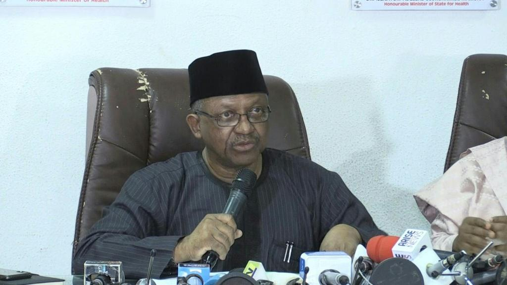 SOUNDBITENigeria Health Minister Osagie Ehanire announces on Friday the first confirmed case of the novel coronavirus in the country.
