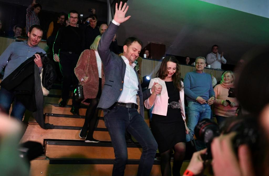 OLaNO, led by Igor Matovic, took 25.8 percent of the vote ahead of a stinging 14.9 percent for the governing Smer-SD party