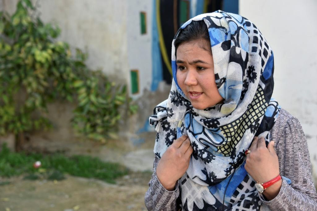 Schoolgirl Parwana Hussaini struck a rare optimistic note about the Taliban, saying: 'We are all Afghans and want peace'