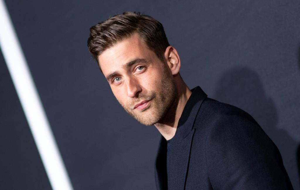 Now you see him...: British actor Oliver Jackson-Cohen arrives for the February 24, 2020 Hollywood premiere of 'The Invisible Man'