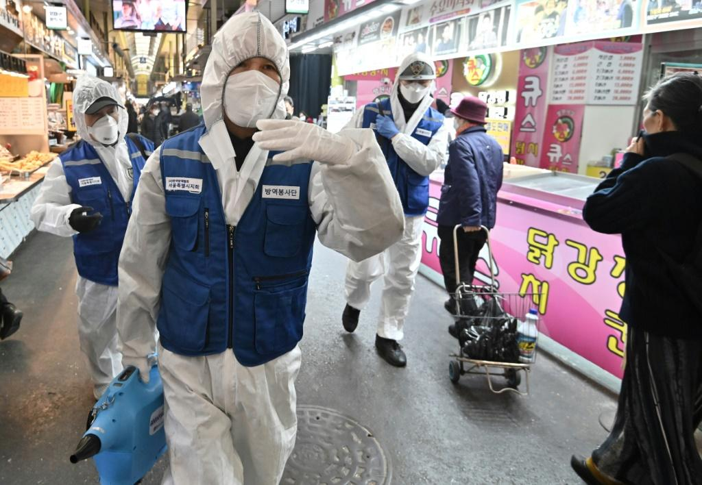 South Korea has seen a rapid rise in coronavirus infections