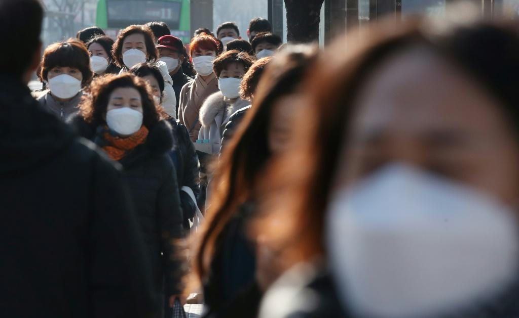 South Korea has reported the largest number of coronavirus infections outside China, with more than 6,000 cases