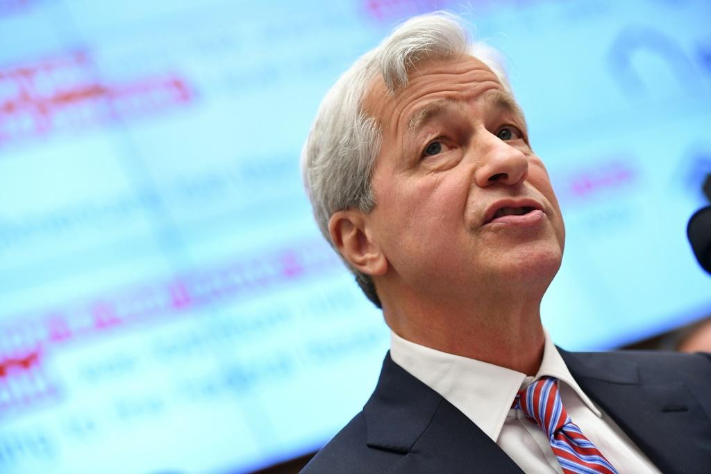 JP Morgan Chase CEO Jamie Dimon testifies before the House Financial Services Committee on accountability for mega banks Capitol Hill in Washington in 2019