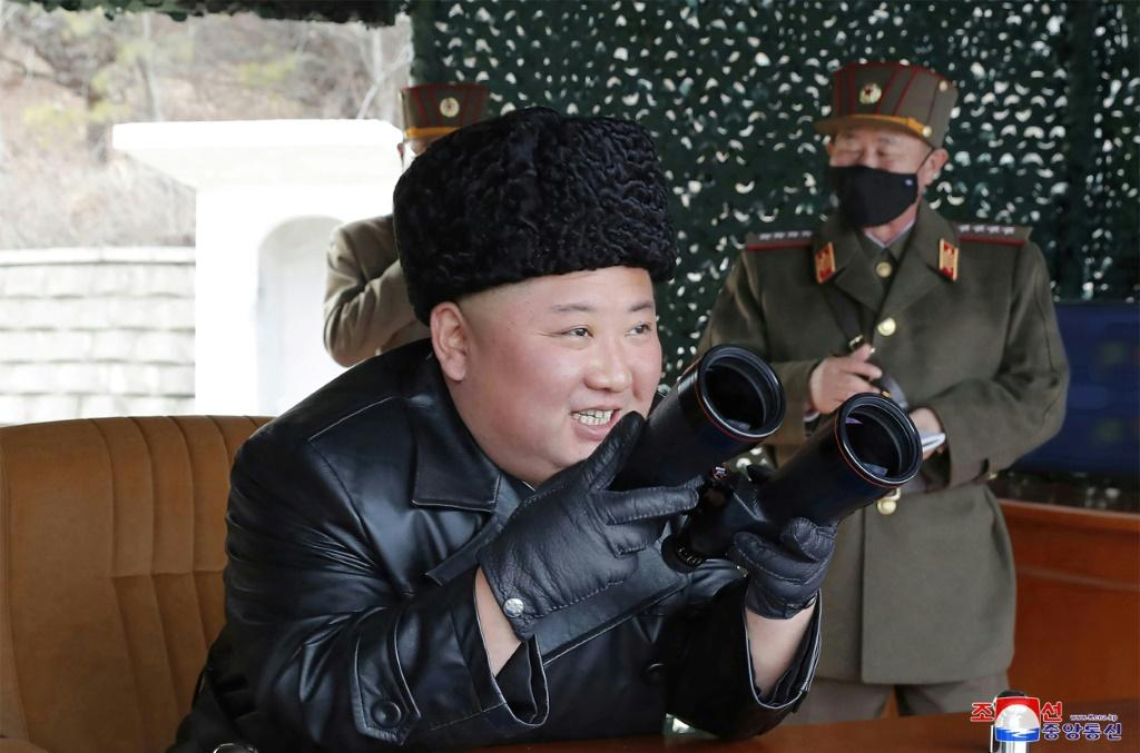 """Kim Jong Un oversaw a Korean People's Army """"long-range artillery"""" drill at an undisclosed location"""