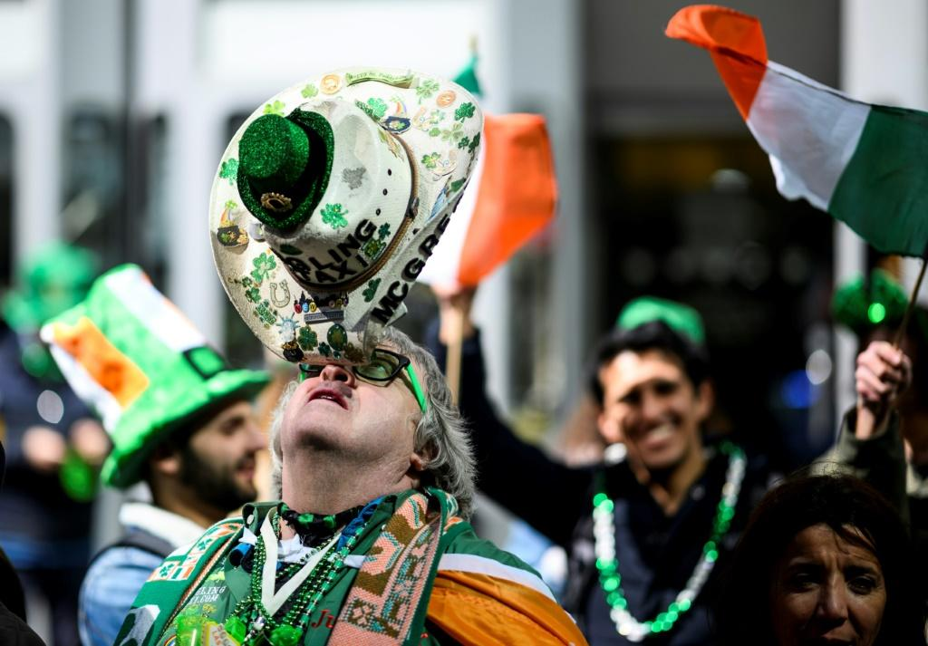 New York postponed its St Patrick's Day parade, which typically attracts two million spectators, for the first time in 250 years