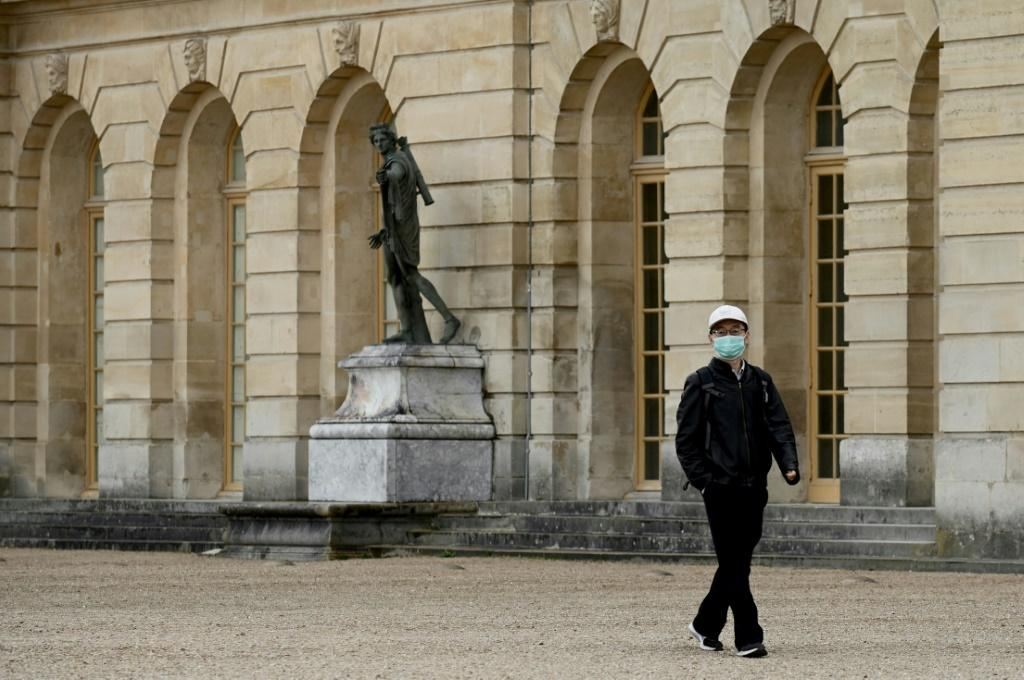 Landmarks such as the Palace of Versailles have been closed