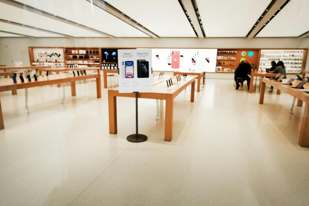 Apple has temporarily closed all its stores outside of China because of coronavirus