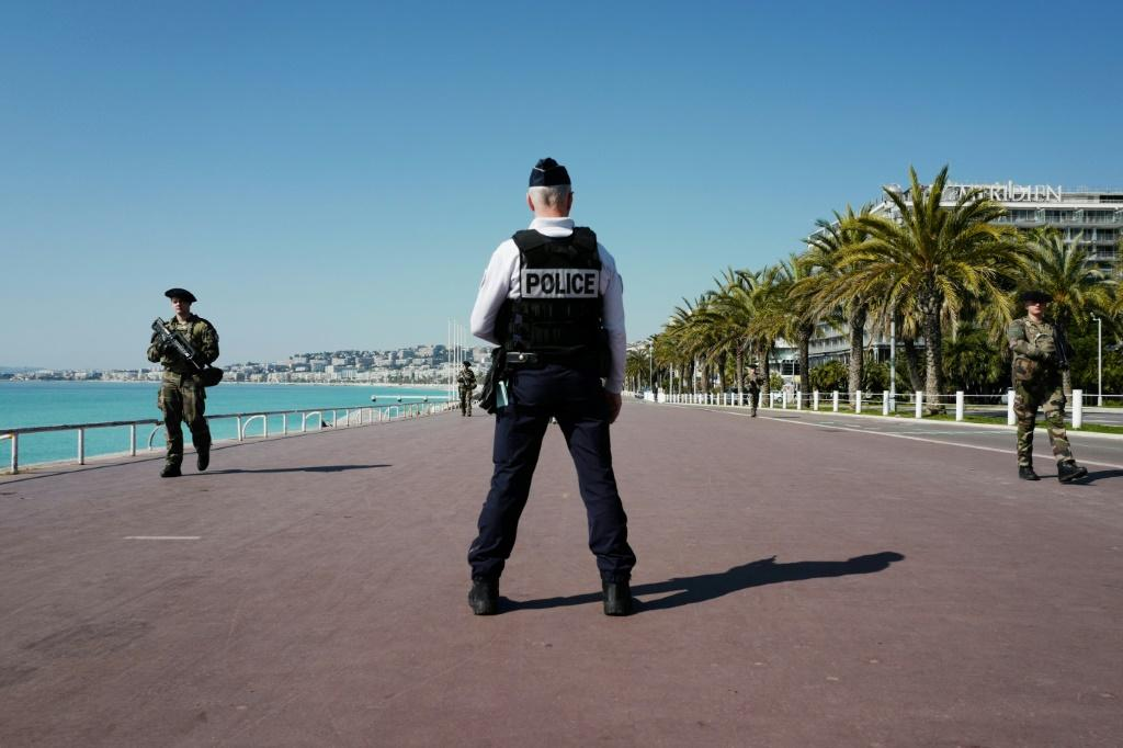 From the Channel to the French Riviera, police and soldiers are out in force