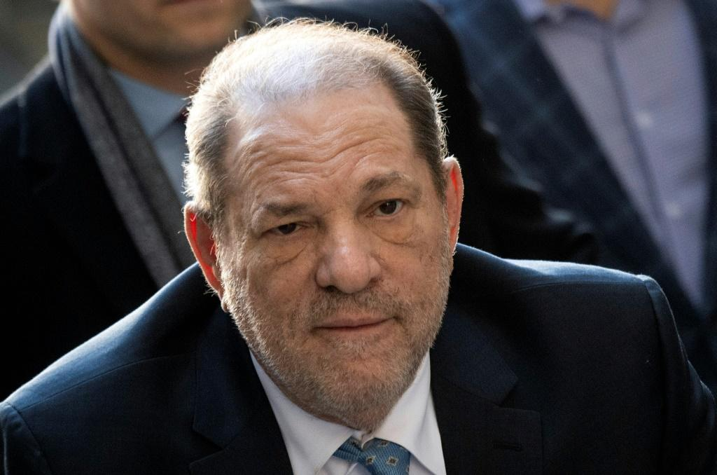 Disgraced Hollywood mogul Harvey Weinstein (pictured February 2020) is in prison in northern New York state after being sentenced to 23 years in jail for rape and sexual assault