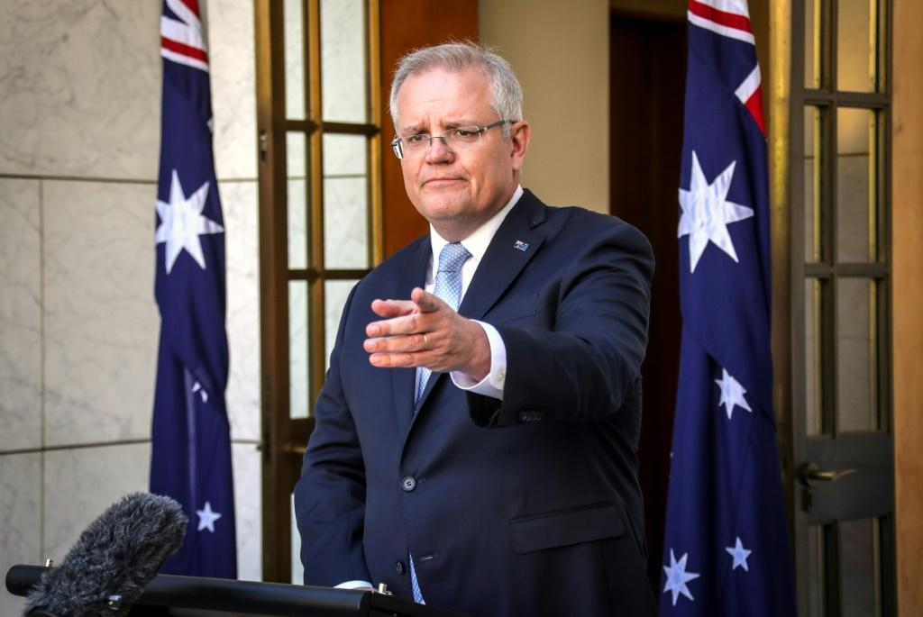 Prime Minister Scott Morrison said the government was also 'moving immediately' to recommend against non-essential travel