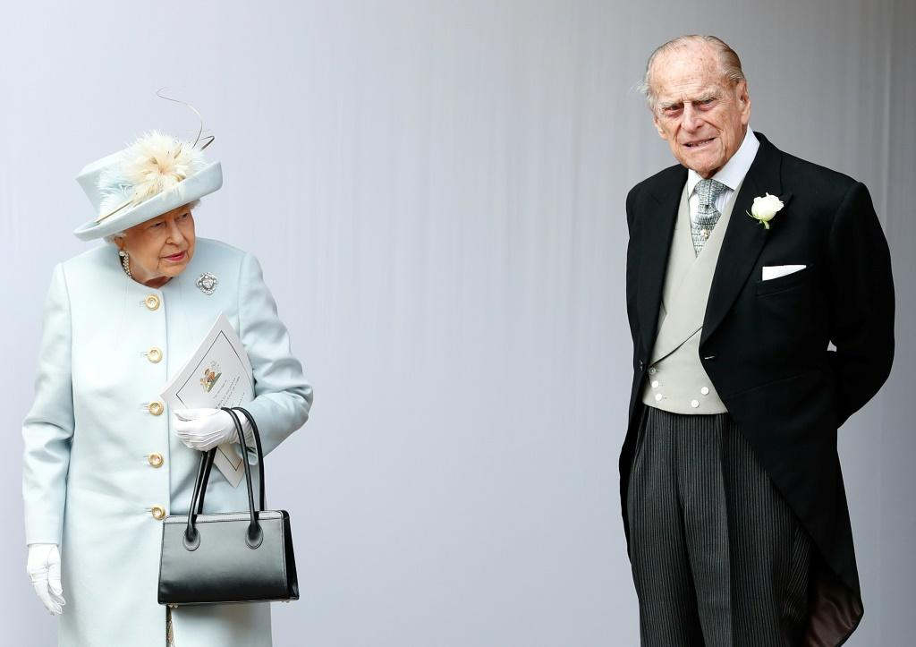 Queen Elizabeth II and her husband Prince Philip retired to Windsor Castle, outside London, on March 19
