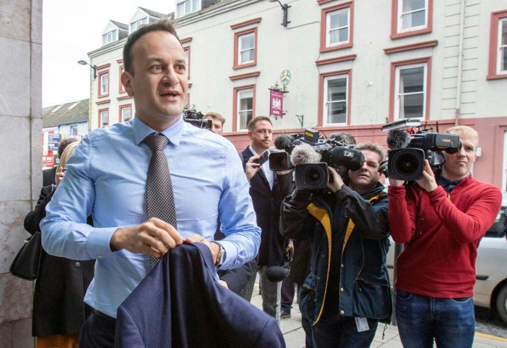 "We did not expect or predict a pandemic of this kind, but we were prepared for an economic crisis, and we are in a much stronger position today as a result,"" said Irish prime minister Leo Varadkar (pictured March 14, 2020)"