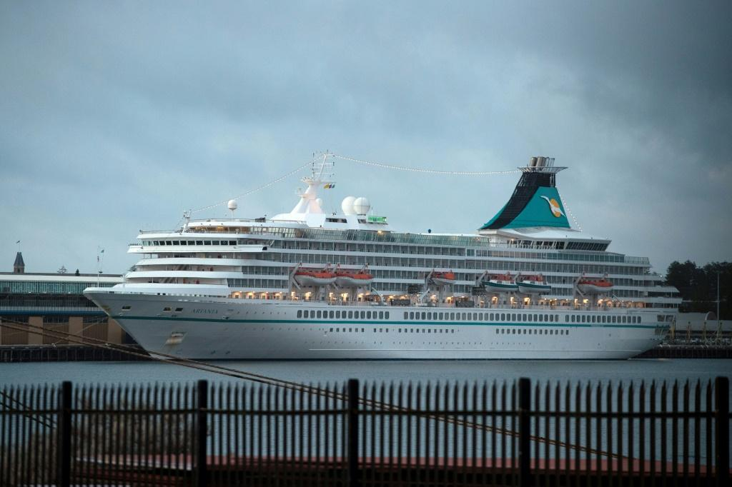 Hundreds of cruise ship passengers were due to board flights for Germany on Sunday after spending days stranded at sea off the West Australian coast aboard the Artania