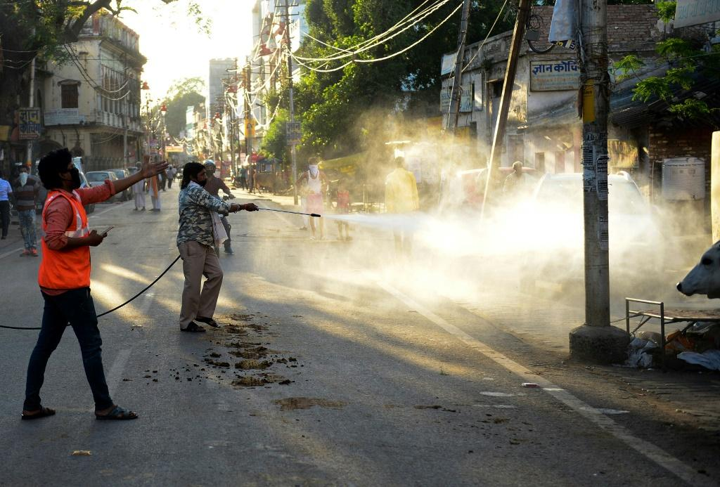 India has also imposed a nationwide lockdown to battle the coronavirus