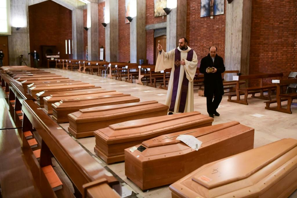 More than 10,000 people have died from COVID-19 in Italy