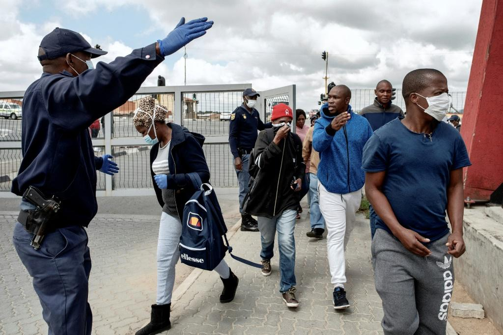 South Africa has imposed a nationwide lockdown to prevent the spread of COVID-19