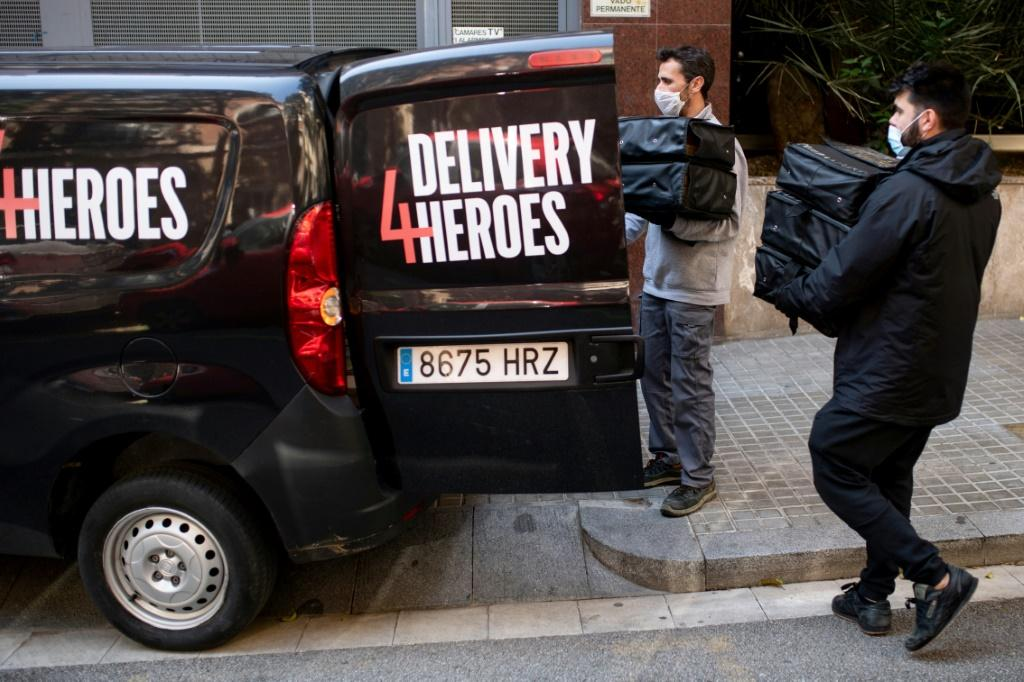 Despite bars and restaurants being shut across Spain, the Delivery4Heroes initiative is designed to ensure healthcare personnel fighting coronavirus in Barcelona get a steady food supply