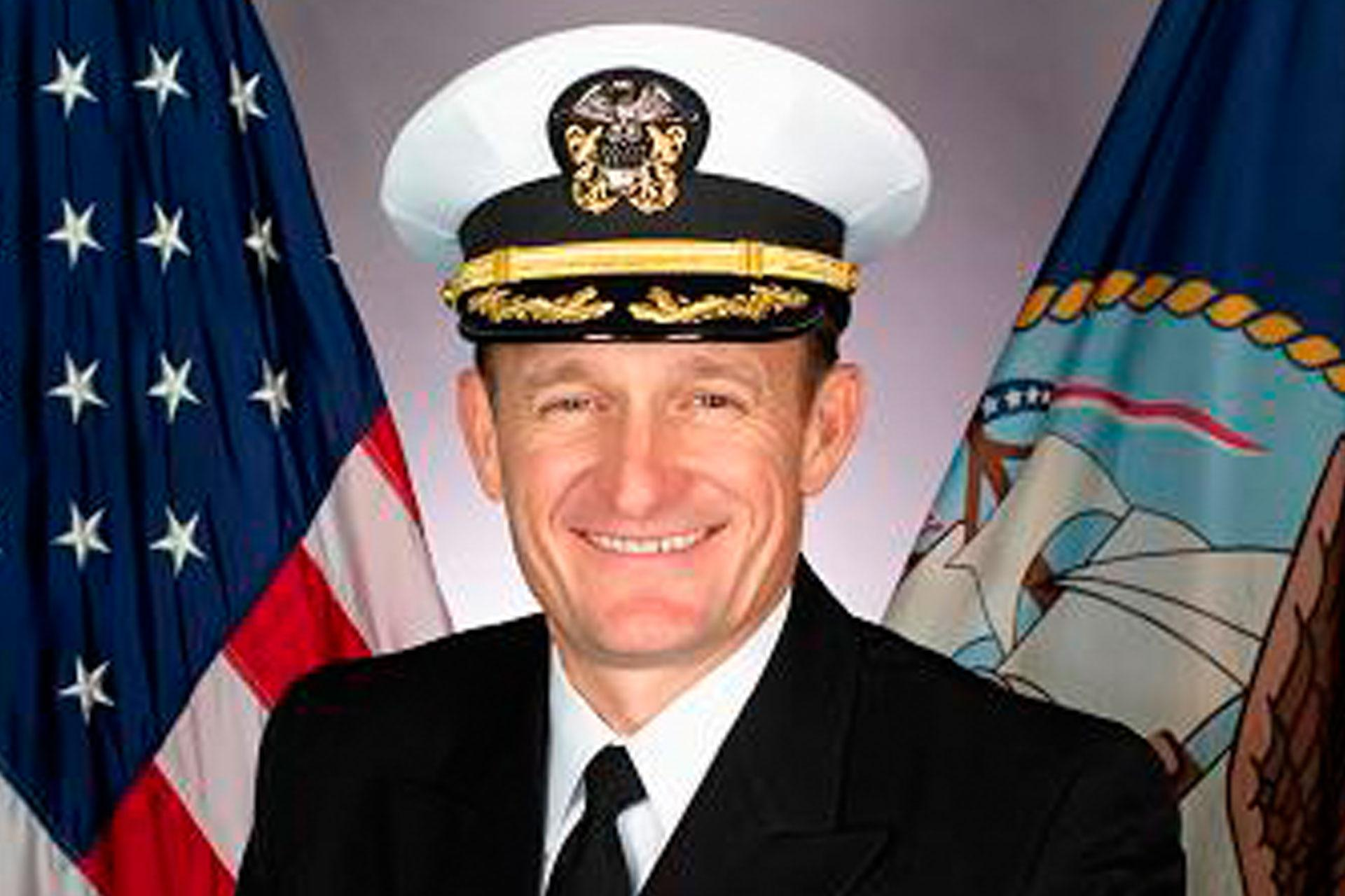 Ex-Navy commander who sounded alarm over coronavirus outbreak tests positive