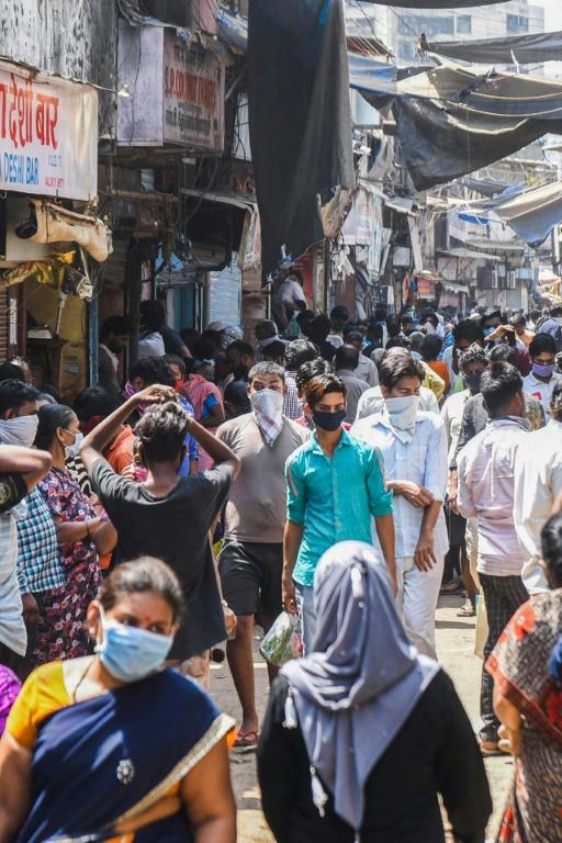 Dharavi's population density is thought to be 270,000 per square kilometre according to the World Economic Forum