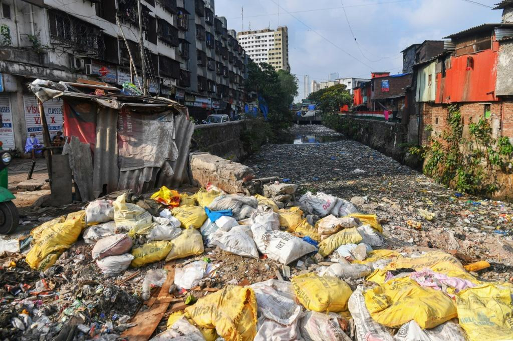Sanitation is dire in the neighbourhood, whose residents have long criticised the government for failing to improve infrastructure