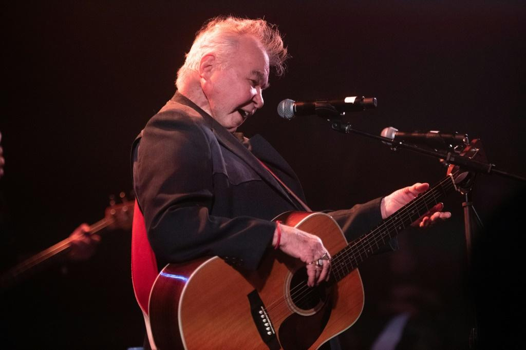 Singer John Prine, recipient of the 2020 Recording Academy's Lifetime Achievement Award, performs during a pre-Grammy show honoring Willie Nelson