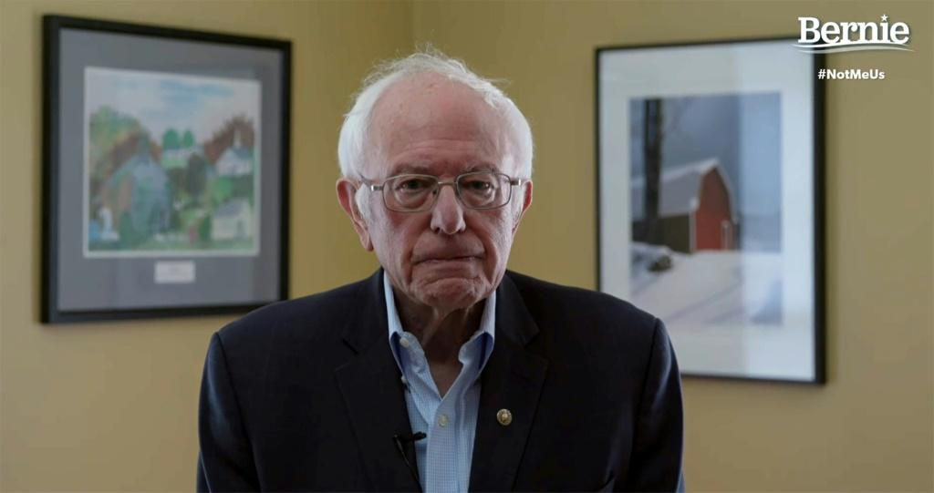 In this video still image from the Bernie Sanders Presidential Campaign, Sanders announces the suspension of his presidential campaign