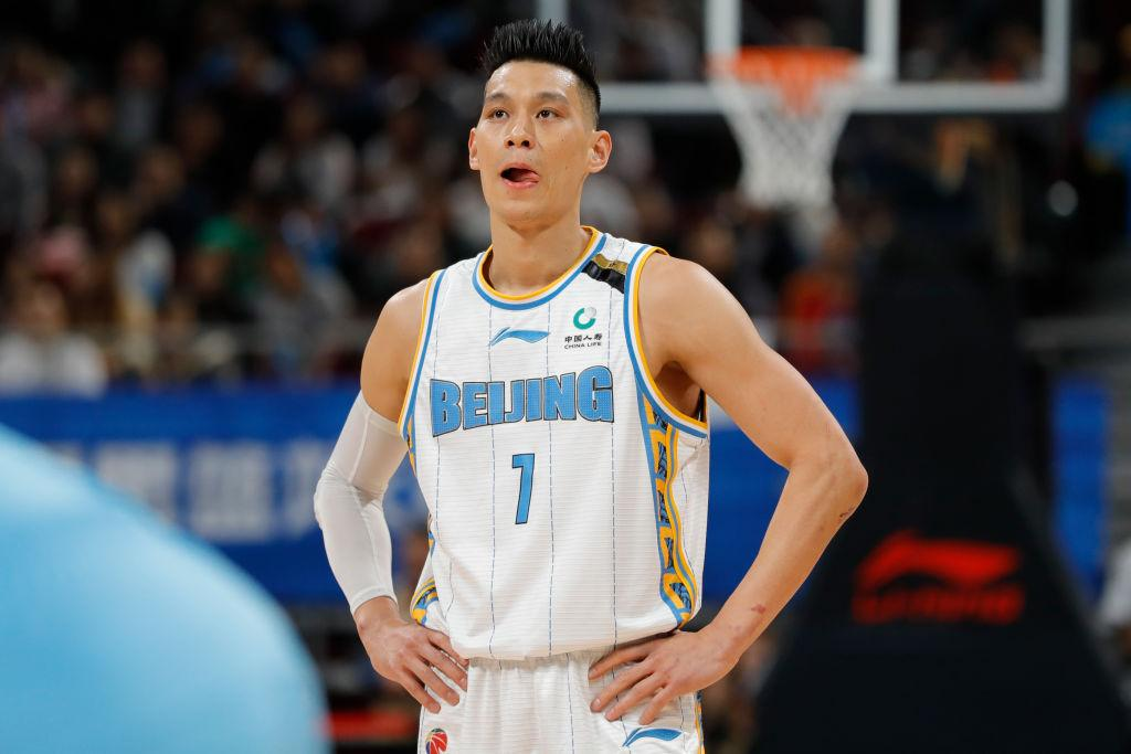 Jeremy Lin of the Beijing Ducks