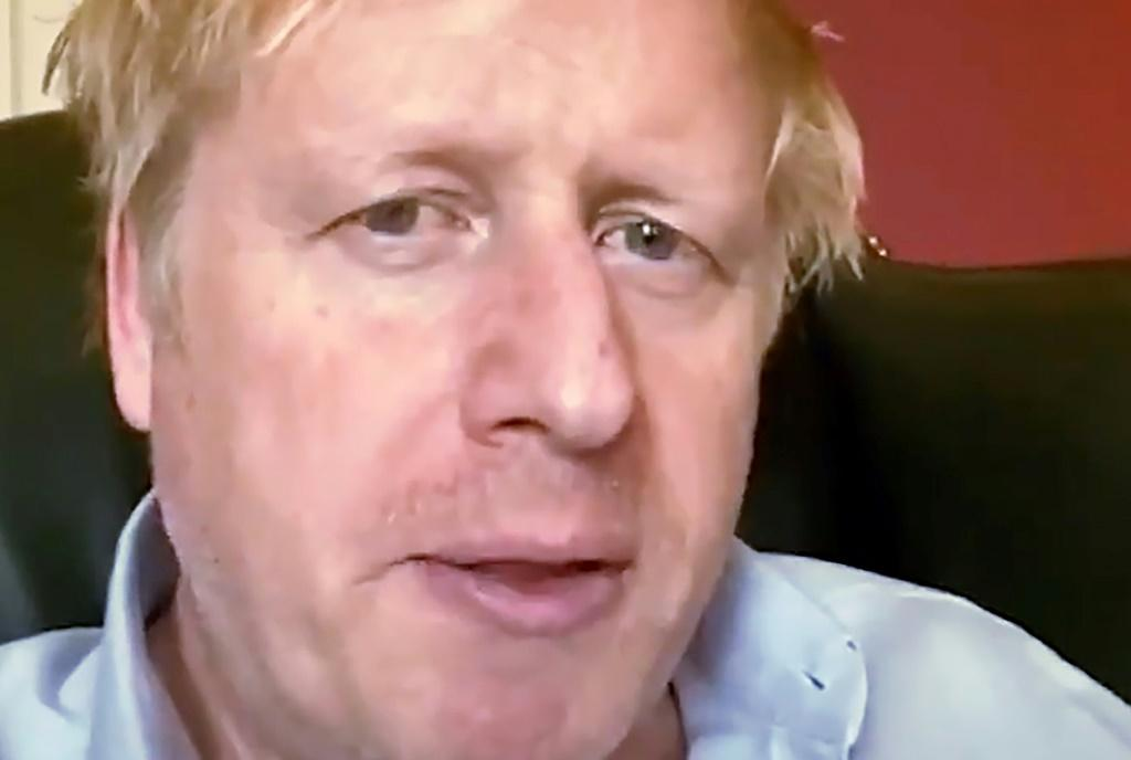 Johnson announced on March 27 that he had coronavirus and went into self-isolation in a flat above his Downing Street office