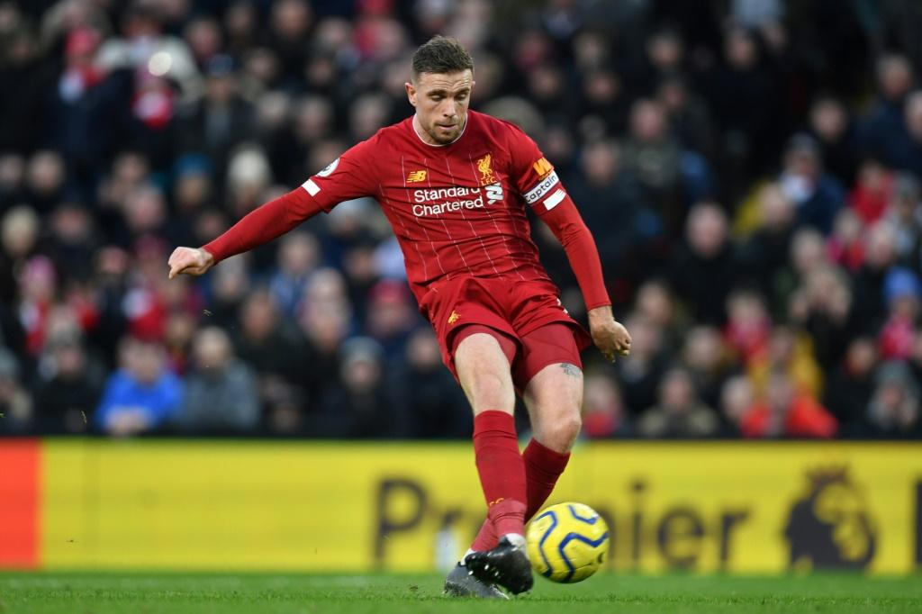 Liverpool captain Jordan Henderson was among the players to post about #PlayersTogether