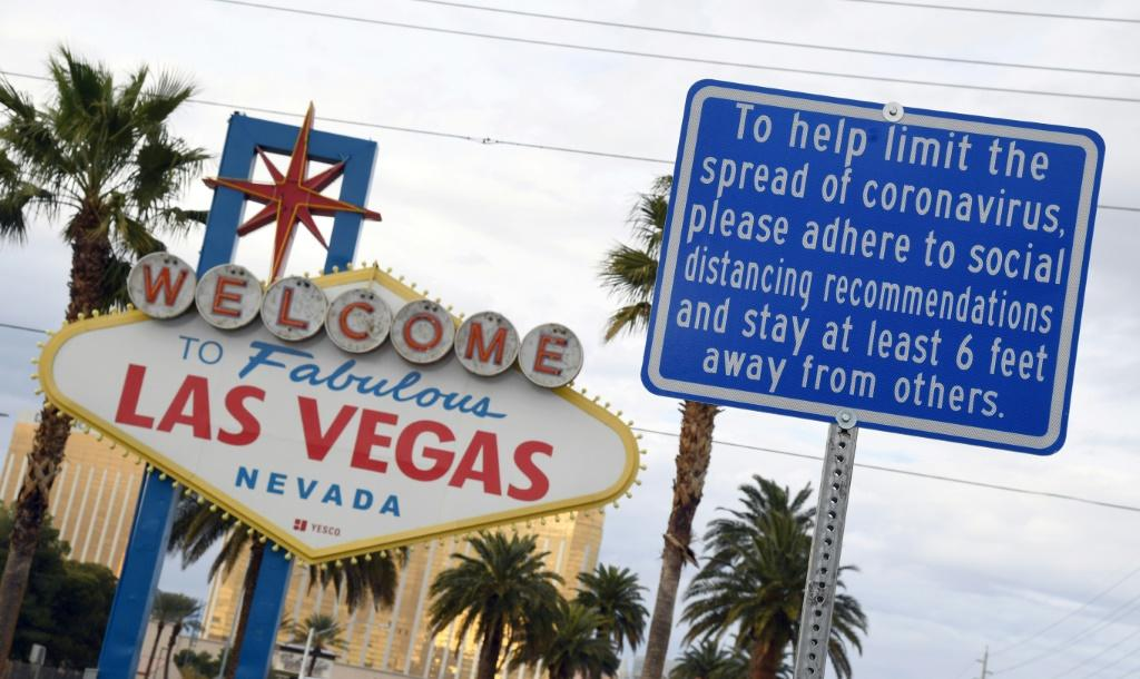 Tens of thousands employed on the world-famous Las Vegas Strip of glitzy hotels and casinos lost their jobs when Nevada shuttered all non-essential businesses