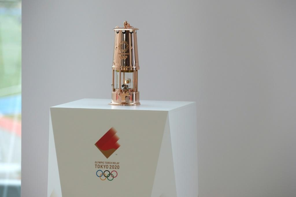 After a week on display in Fukushima Prefecture, the Olympic flame disappeared from view