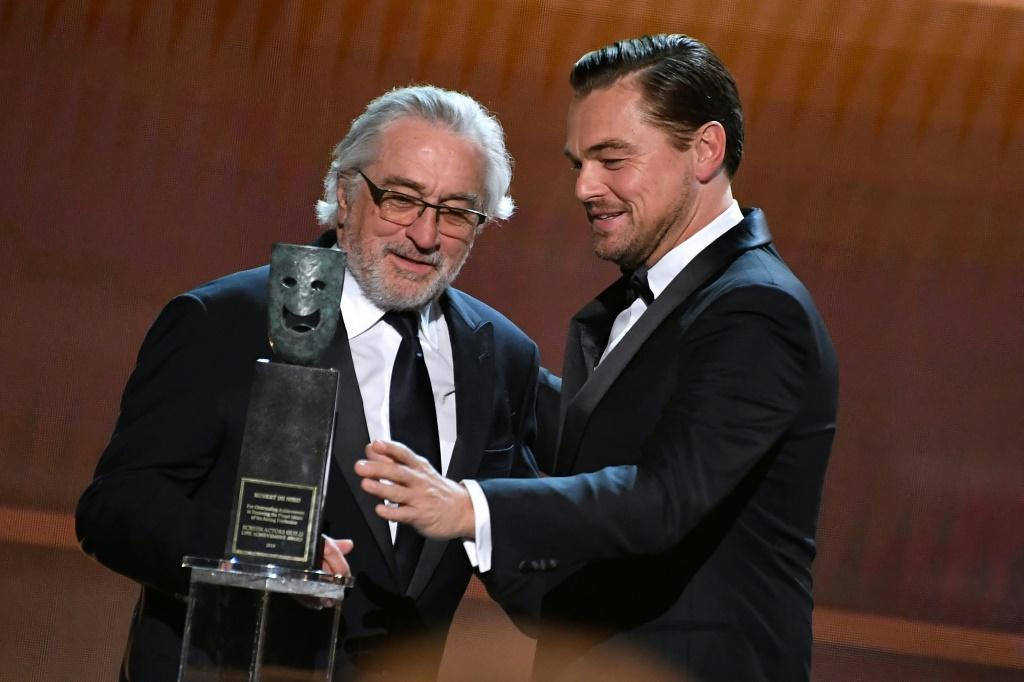 Leonardo DiCaprio and Robert De Niro are offering a walk-in role in their upcoming film to one lucky donor to coronavirus charities