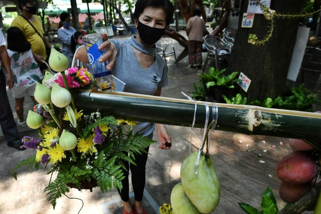 The government has urged all Thais to remain at home