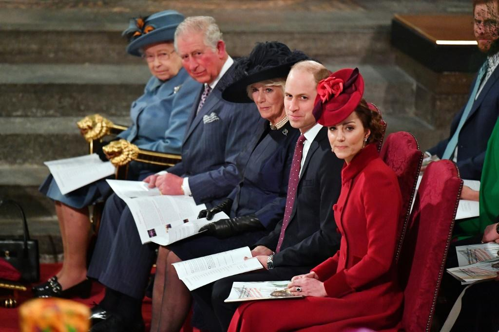 Britain's Prince William and his wife Kate aired their concerns for the royal family with the novel coronavirus rampant