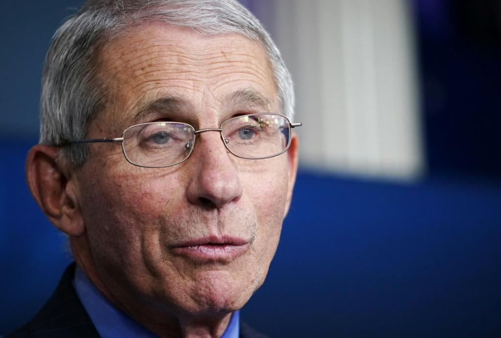 The bespectacled Anthony Fauci is one of President Donald Trump's point people on the coronavirus crisis -- and has become something of a pop culture icon