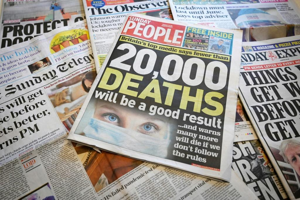 Britain's culture secretary Oliver Dowden has warned the news industry could lose £50 million during the crisis, particularly as big firms had blocked online ads alongside stories on COVID-19